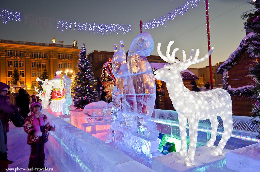 Фотография 11. Снежный Олень и Ледяная Белочка.