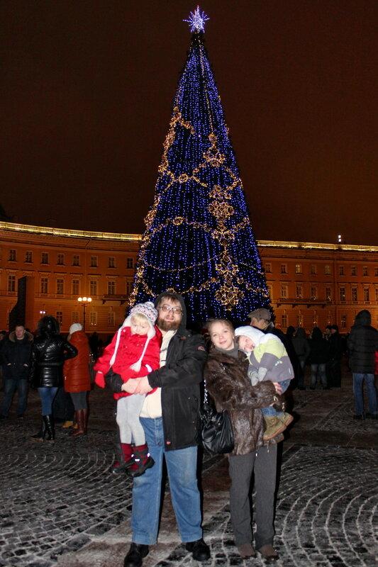Дворцовая площадь, 31.12.2014.