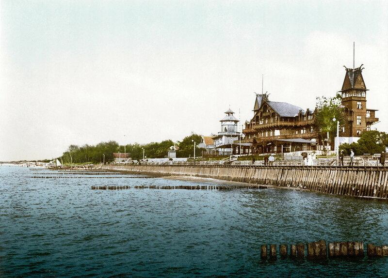 11. Дамская купальня, Кранц, окрестности Кенигсберга (Восточная Пруссия)