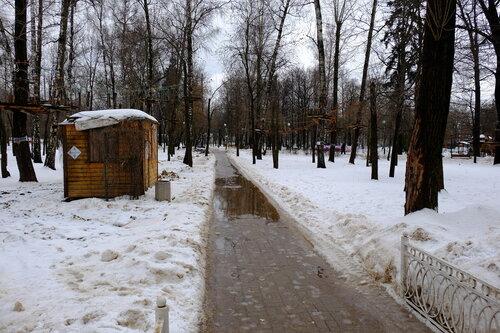 Дорожка в Лианозовском парке
