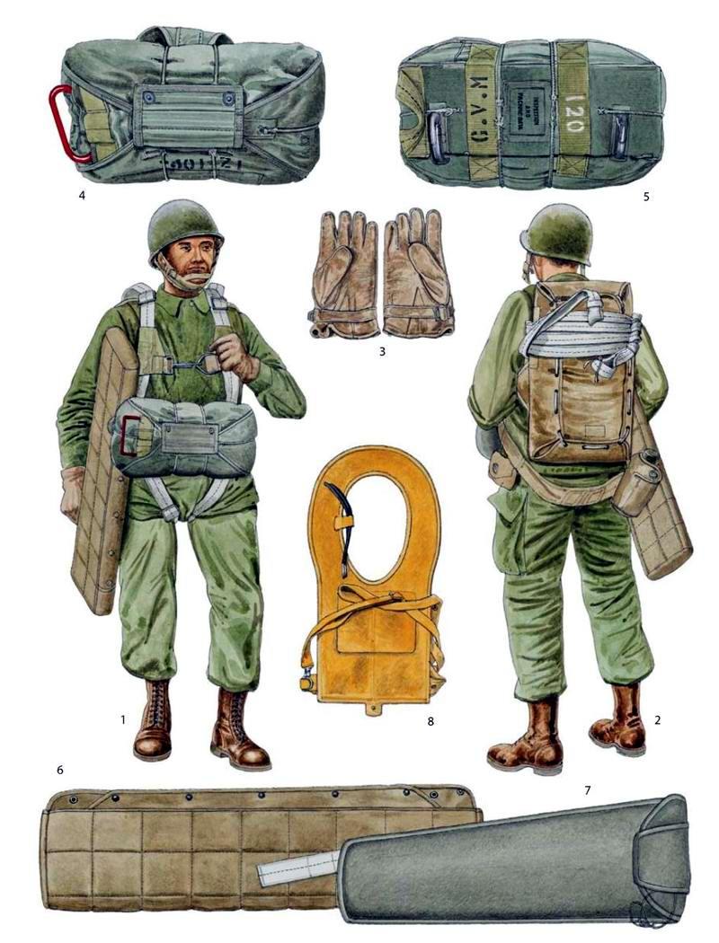 Прикольные картинки рисованных парашютистов 23 февраля
