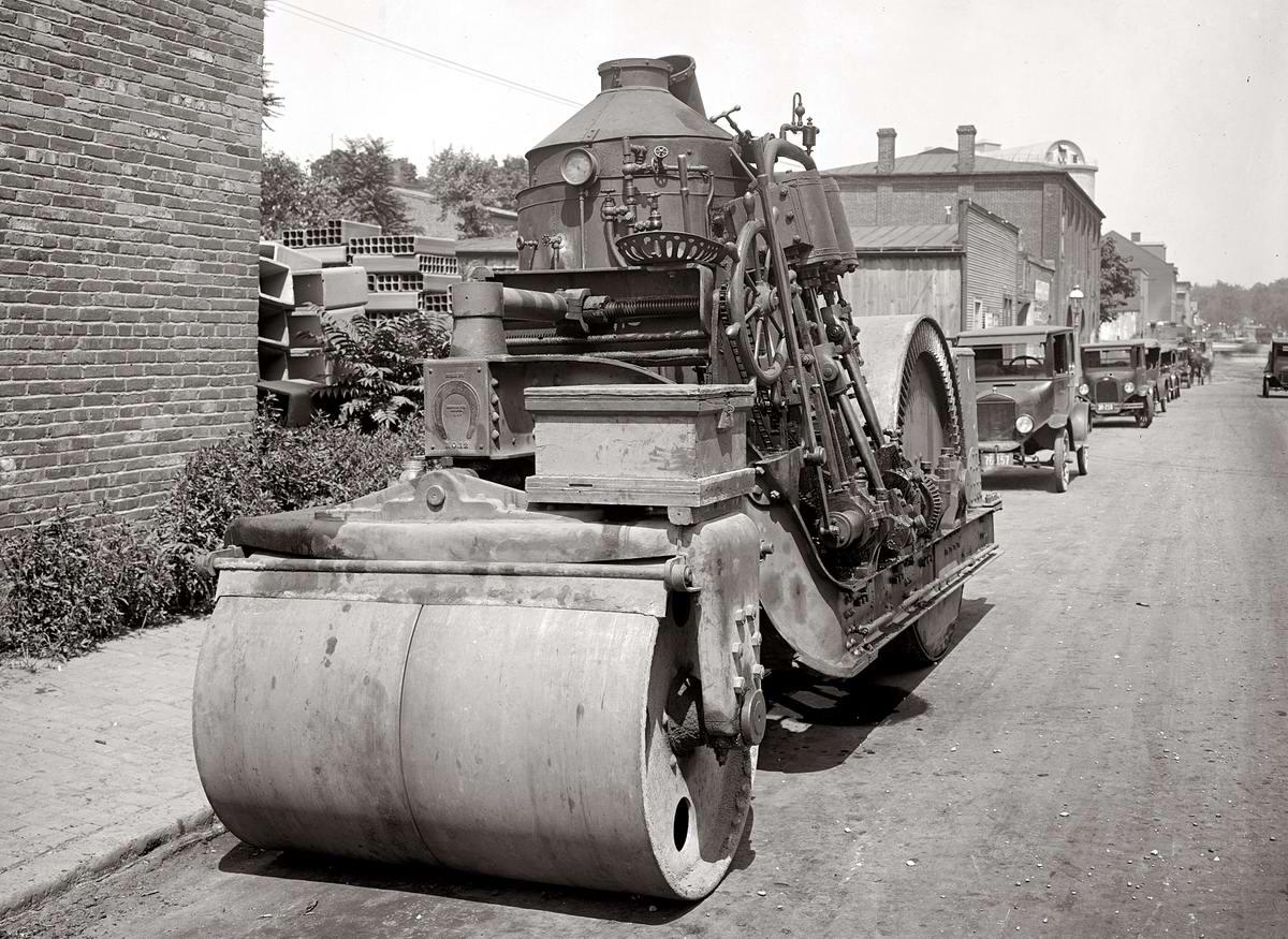 Специализированные транспортные средства начала 20-го века на снимках американских фотографов (54)