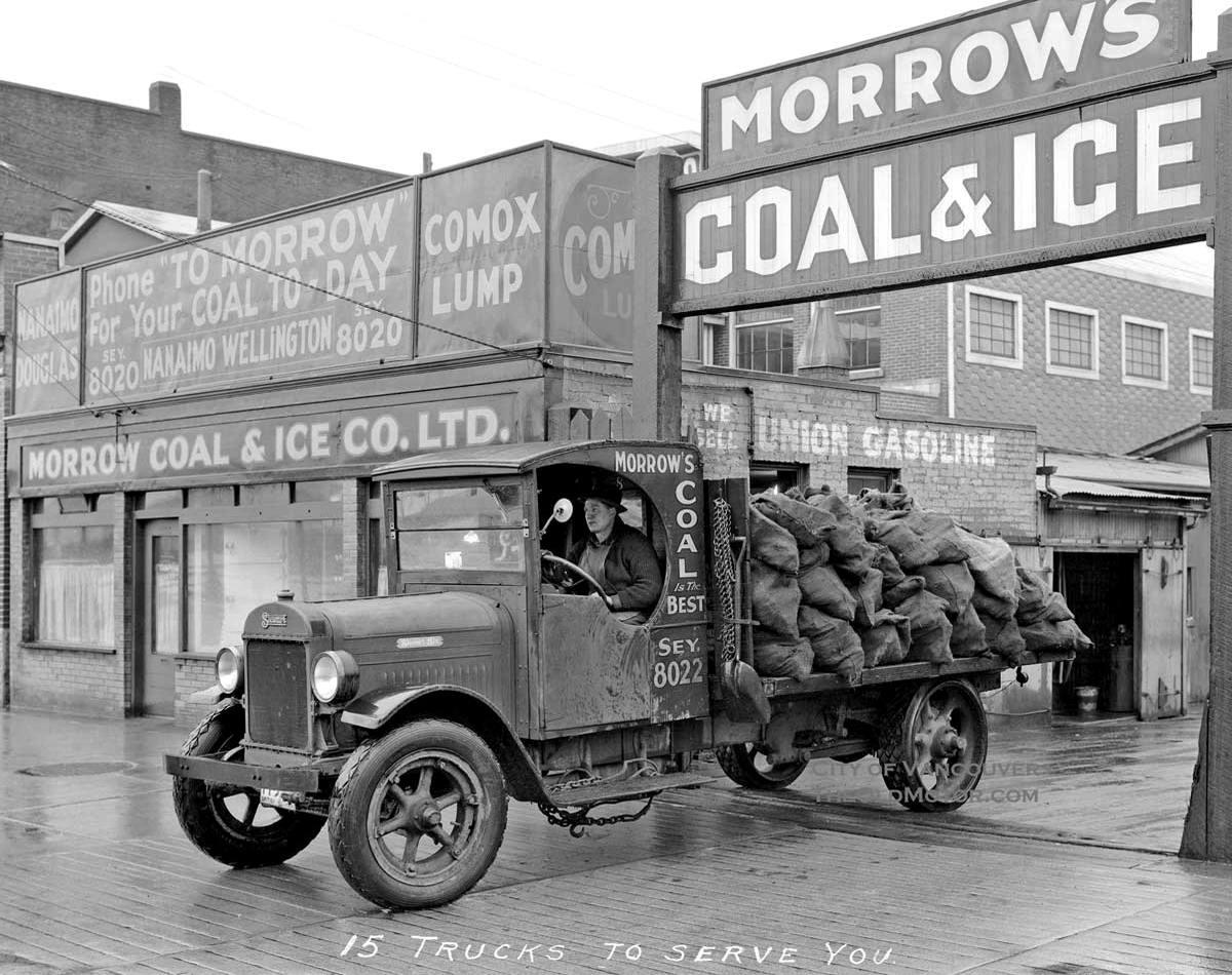 Специализированные транспортные средства начала 20-го века на снимках американских фотографов (59)