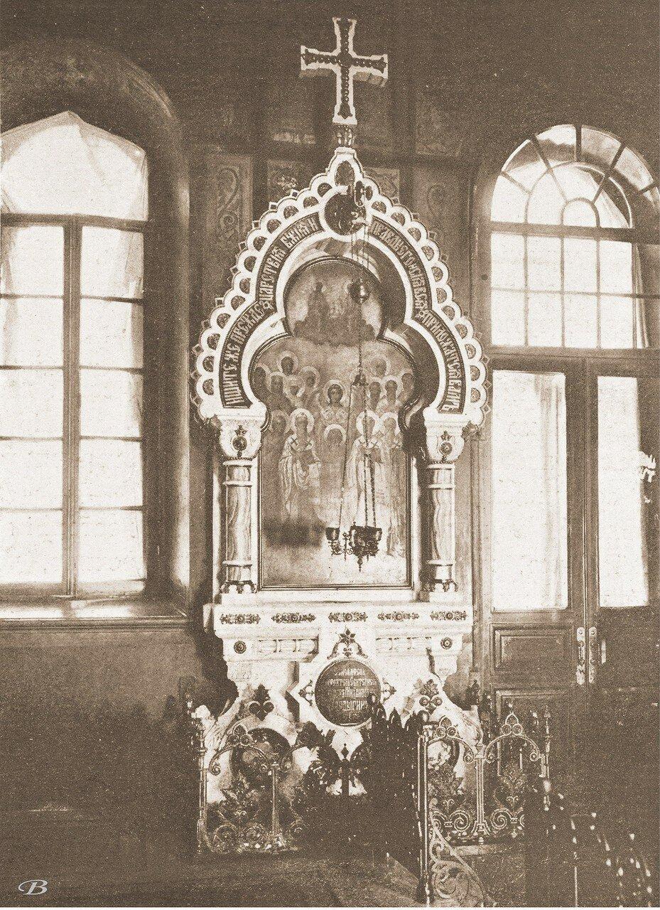 Киота над могилой Никифора Михайловича Бардыгина, сооруженная им самим