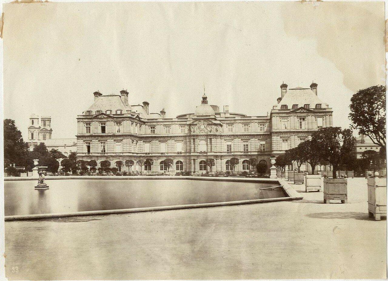 1880-е. Люксембургский дворец