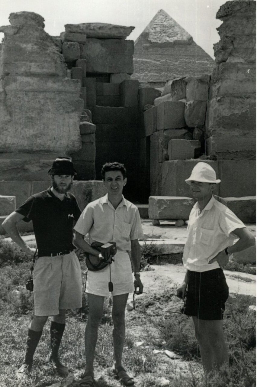 Гиза. Джон Армстронг, Дональд Шеннон и Джон Пилл, Пирамида Хеопса 1970.