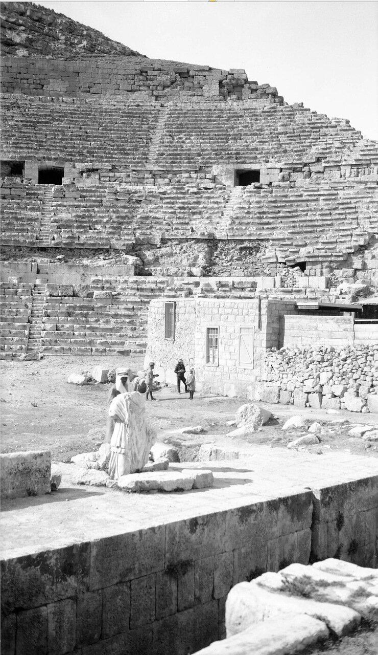 Римский амфитеатр в древнем городе Филадельфия