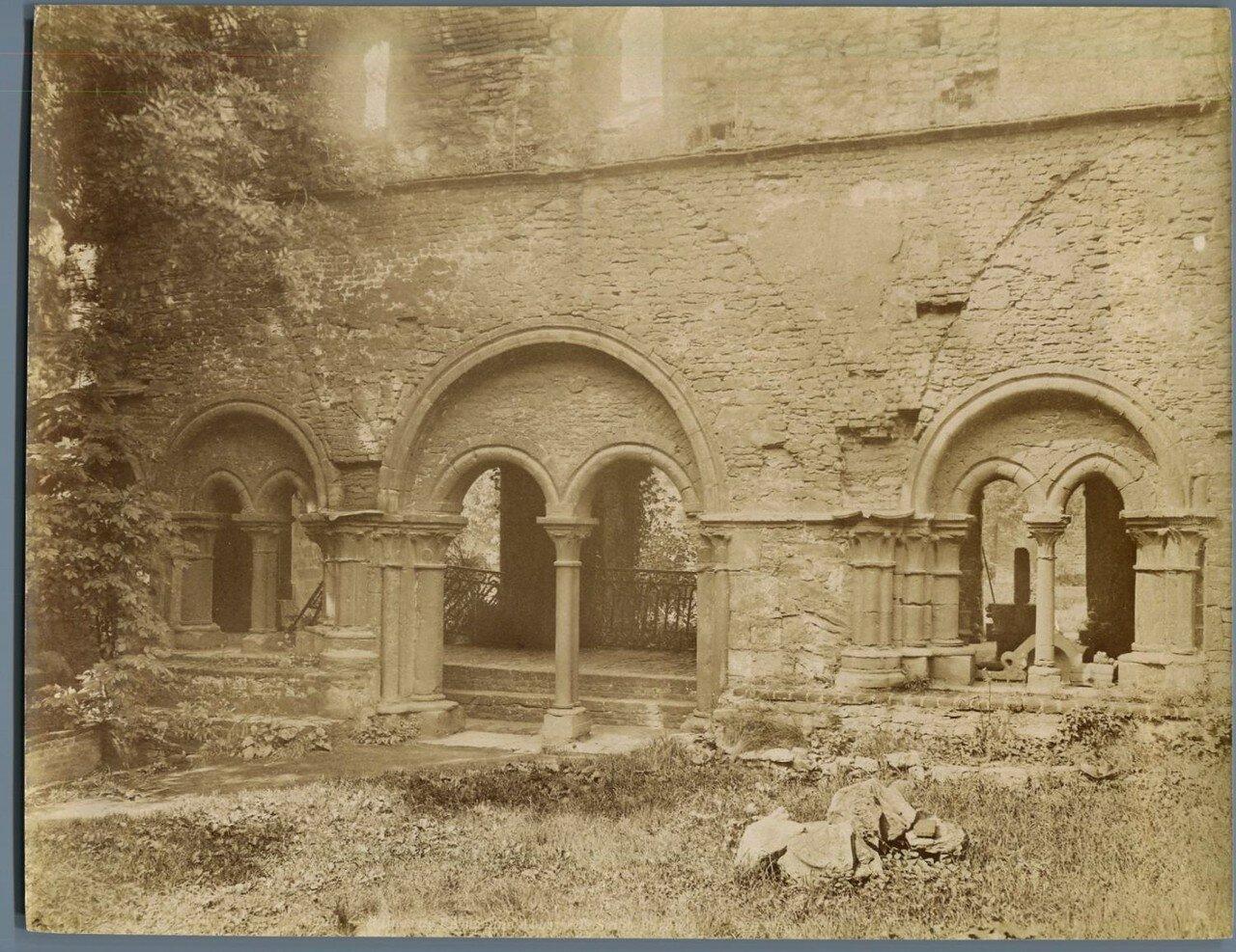 Гент. Руины