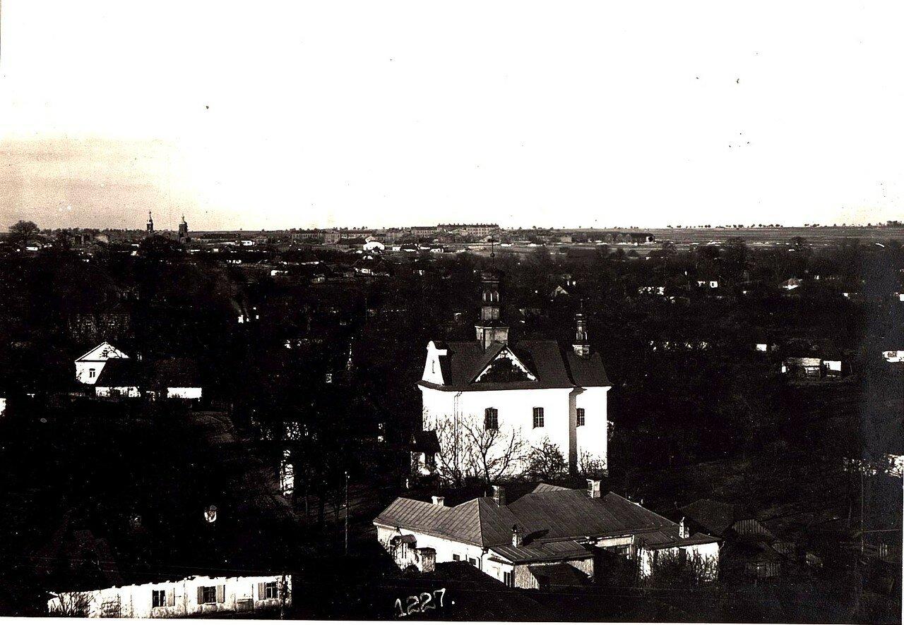 Панорама города с башни. (18/II.1918.)