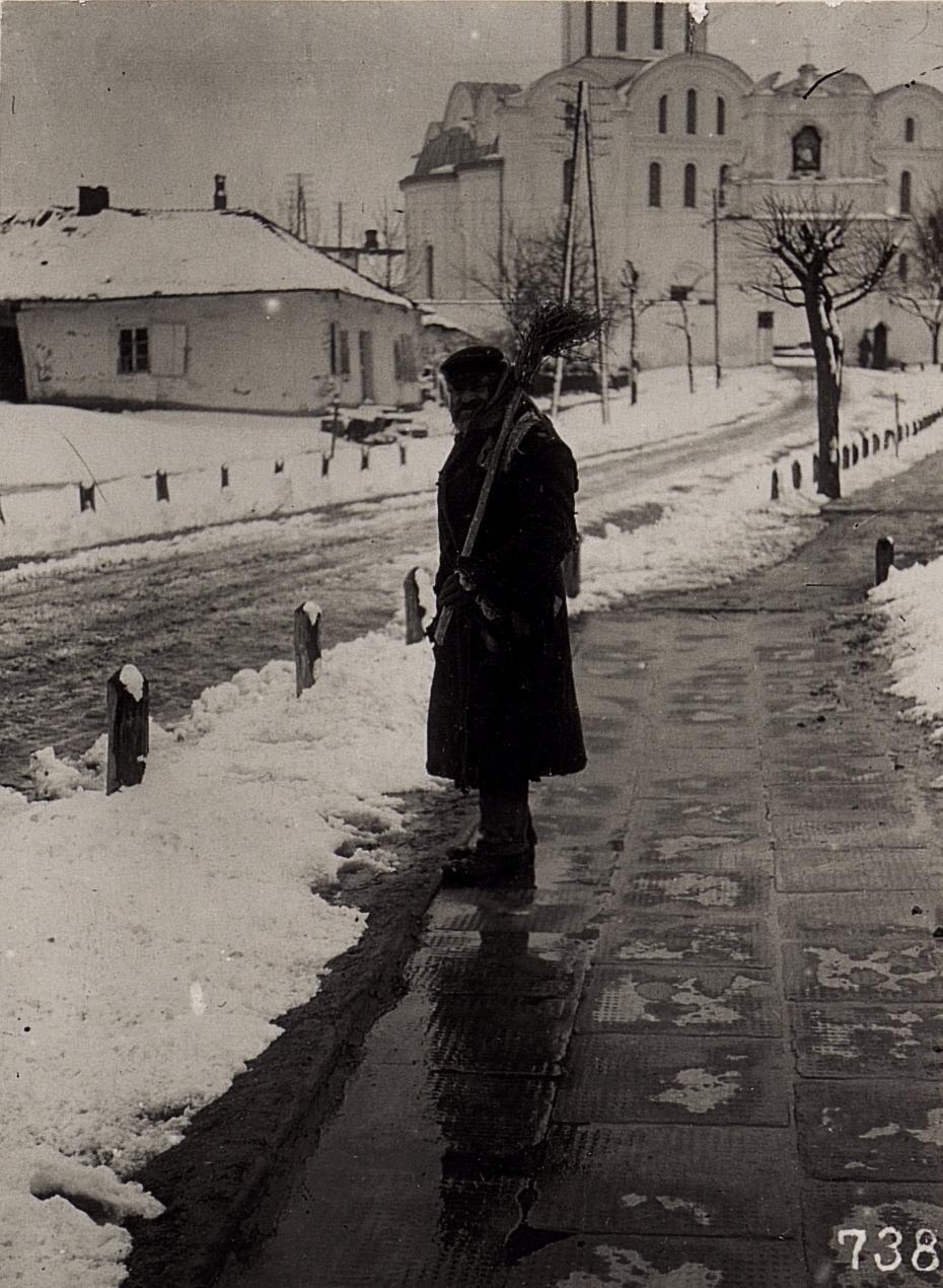 Еврейский трубочист во Владимире-Волынском