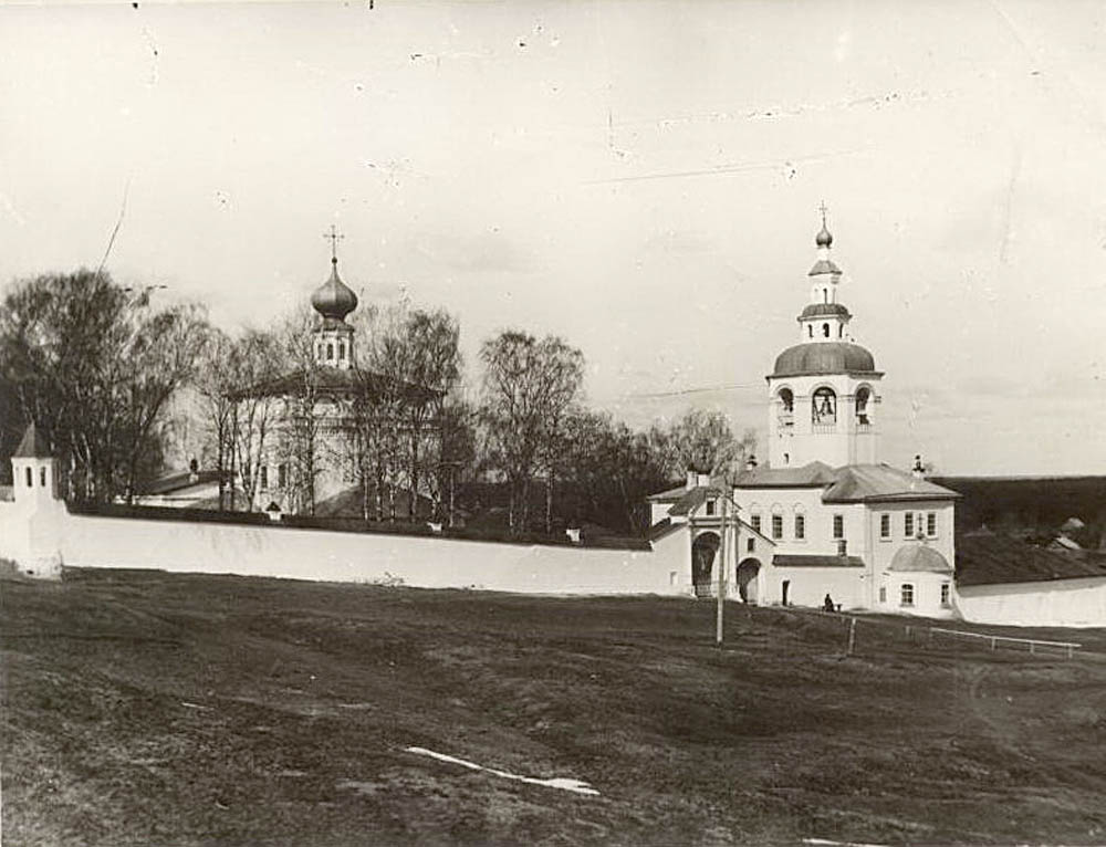 Церковь Михаила Малеина, надвратная