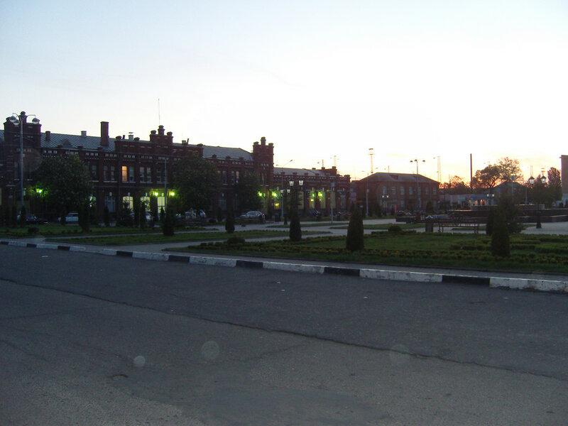 станция Кавказская. Привокзальная площадь