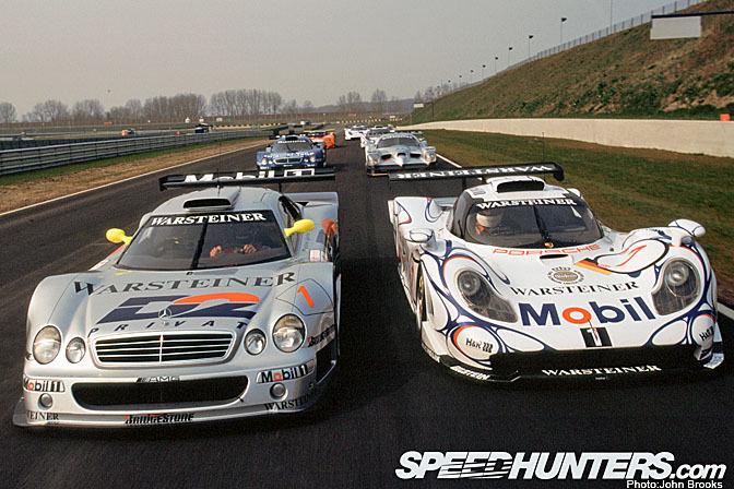 1998 FIA GT Mercedes-Benz CLK GTR Porsche-911 GT1