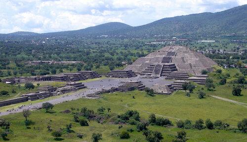 Теотиуакан в Мехико