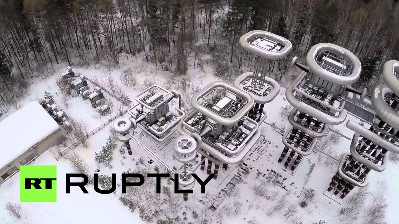 Башни Тесла, скрывающиеся в дебрях лесов Подмосковья