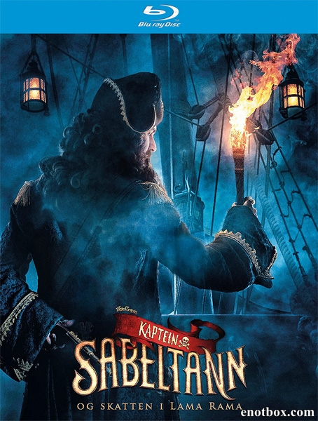 Капитан Саблезуб и сокровища Лама Рама / Kaptein Sabeltann og skatten i Lama Rama (2014/BDRip/HDRip)