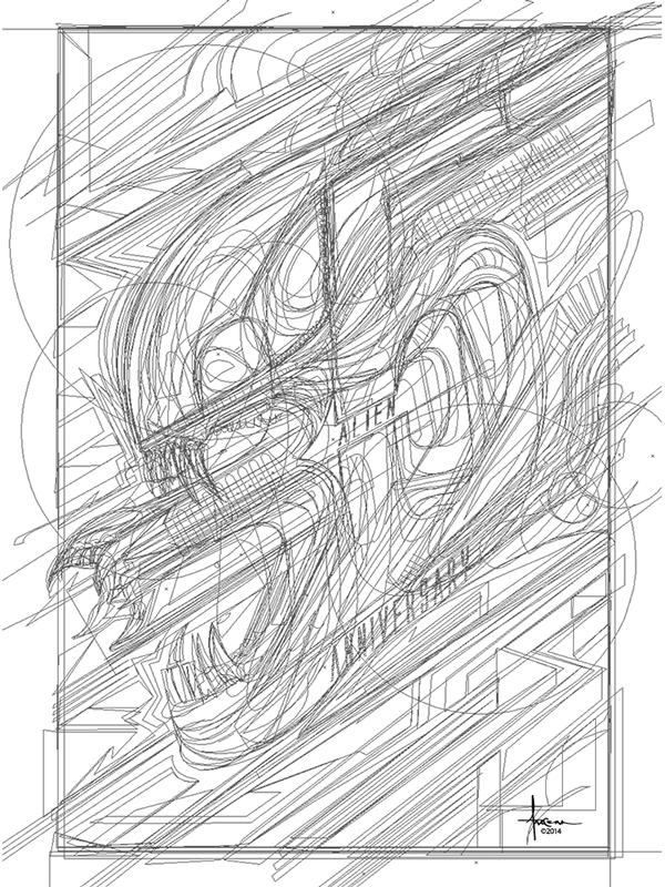 Великолепная b50векторная графика иллюстратора Орландо Aрокены / Orlando Arocena