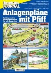 Журнал Eisenbahn Journal. Anlagenbau & Planung. Anlagenplane mit Pfiff