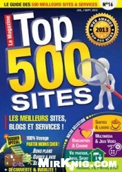 Журнал Le magazine Top 500 Sites №16 2013