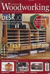 Журнал Traditional WoodWorking №157 June 2003