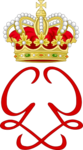 Royal Monogram of Princess Grace of Monaco