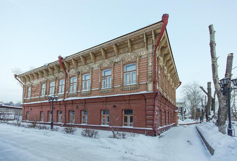 Дом Шишкова в Томске