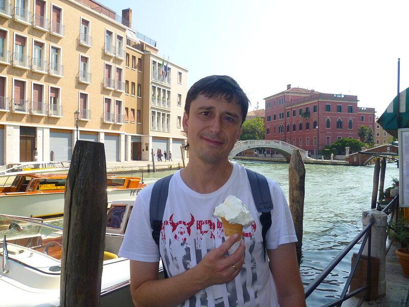Мороженое в Венеции, Италия (Ice Cream in Venice, Italy)