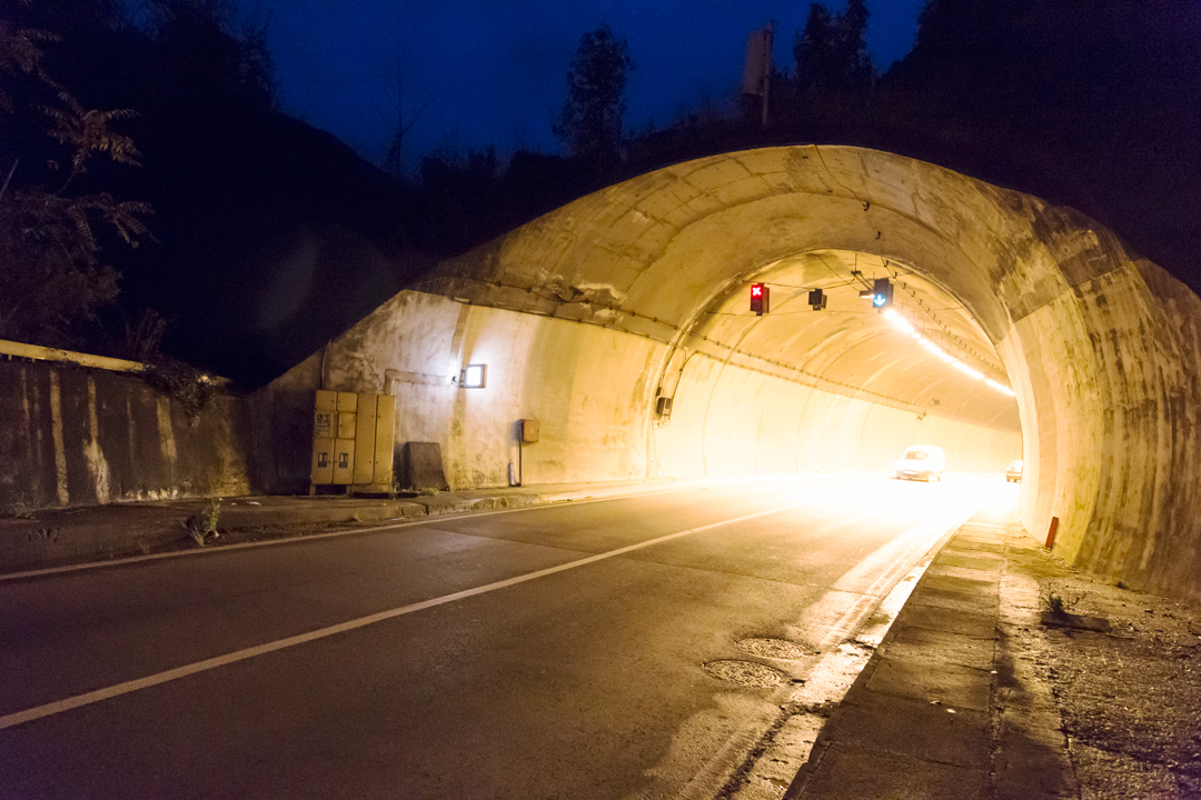 Котор, туннель Врмац