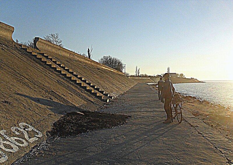 Ноябрь, на Природе, Азовское побережье, 2014 год