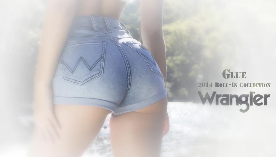 Алексис Рен / Alexis Ren - Wrangler x Glue 2014 Roll-In collection