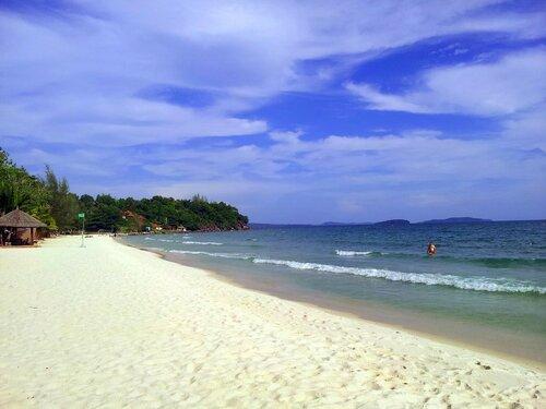 Камбоджа ,Сиануквиль, море в Камбодже