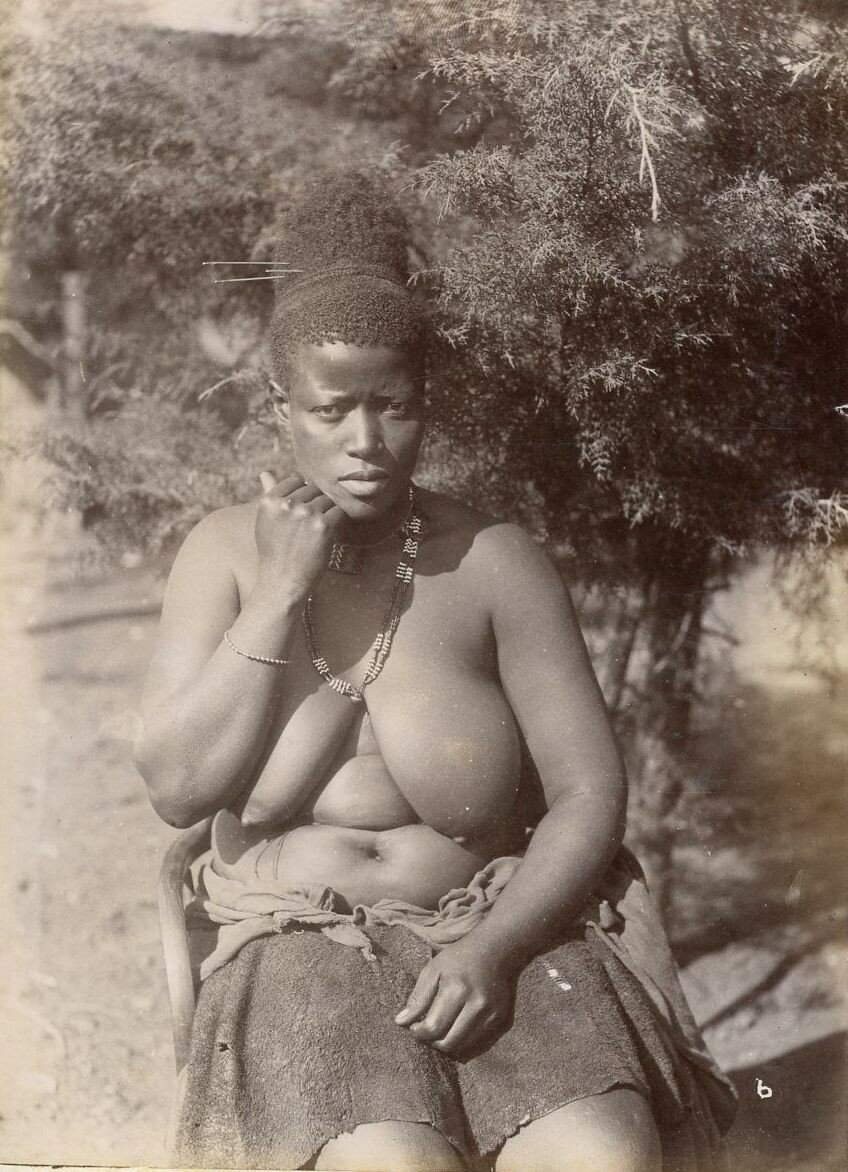 Naked old aboriginal women