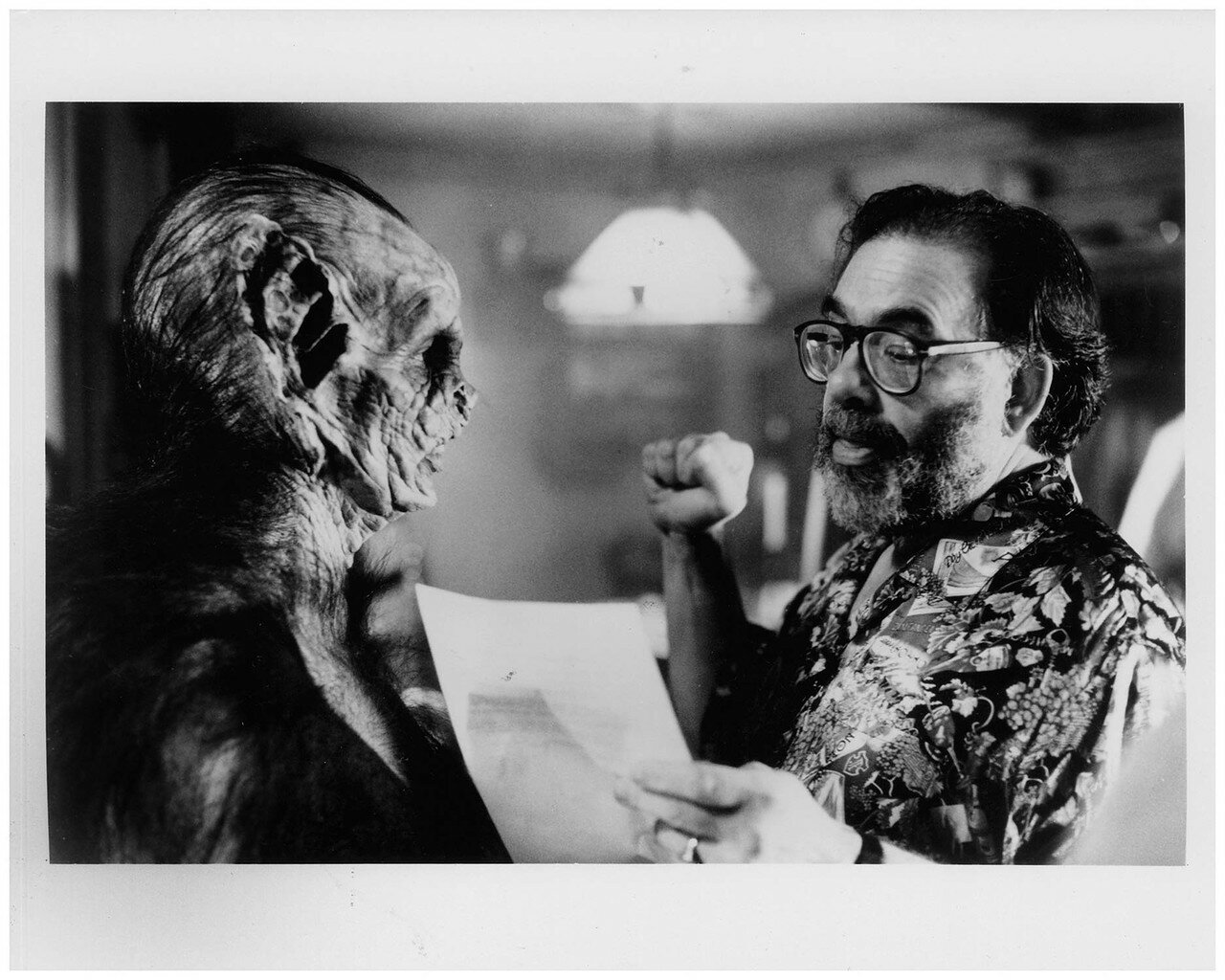 1992. Френсис Форд Коппола на съемках фильма «Дракула»