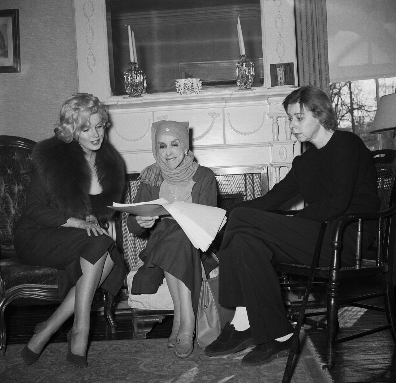 Marilyn Monroe Watches Isak Dinesen