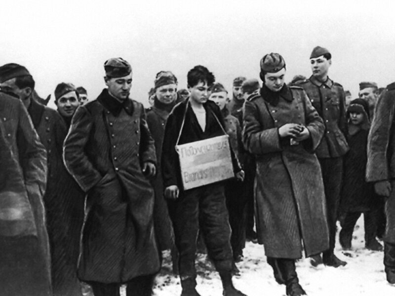 Зоя Космодемьянская перед казнью, «Правда», 24 октября 1943 года