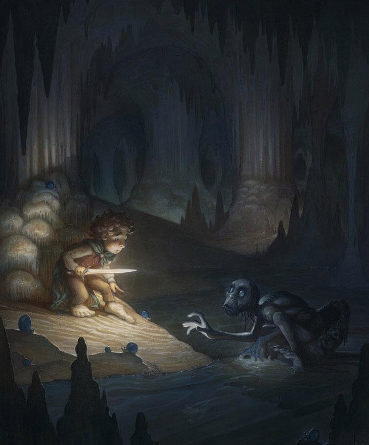 Tolkien illustrated, Justin Gerard0.jpg