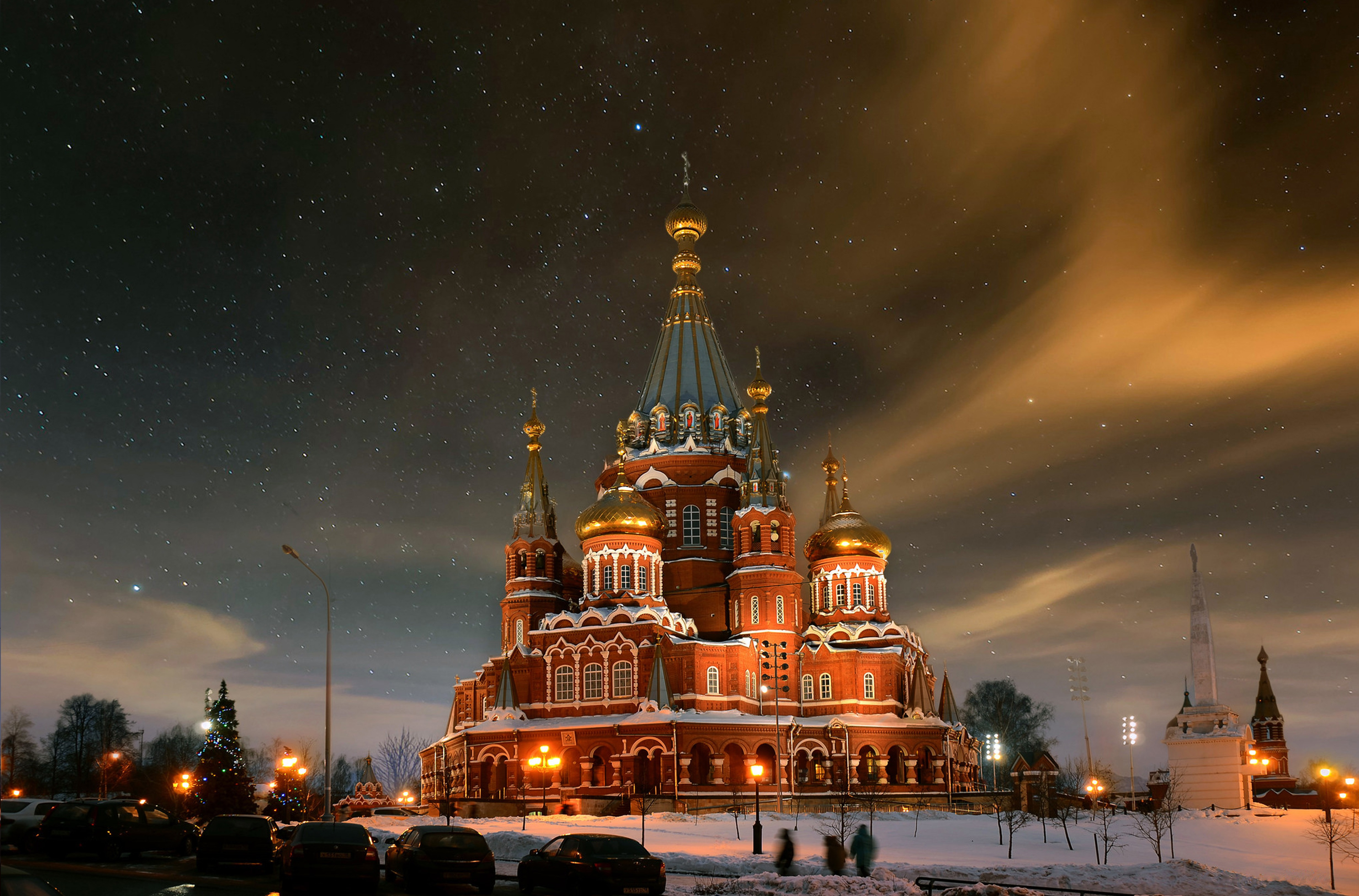 Воткинск центр фото ночью 7