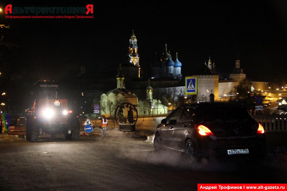 Убирают снег за девять миллионов рублей в квартал