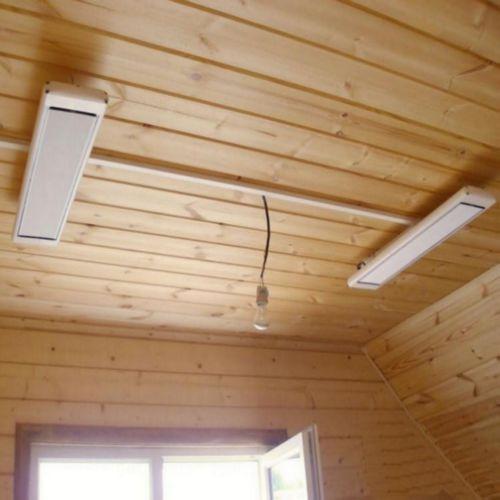 Обогреватели Алмак ИК-8 (Almac ИК-8) в деревянном доме