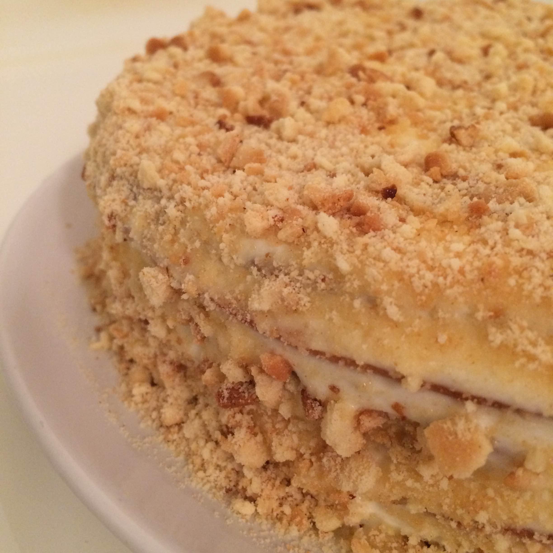 Honung tårta