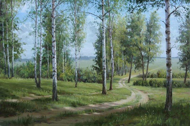 Белорусский художник Олег Чувашев. Нежные пейзажи и натюрморты 0 1110ba ce1a53af XL