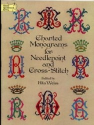 Книга Charted monograms for needlepoint and cross-stitch
