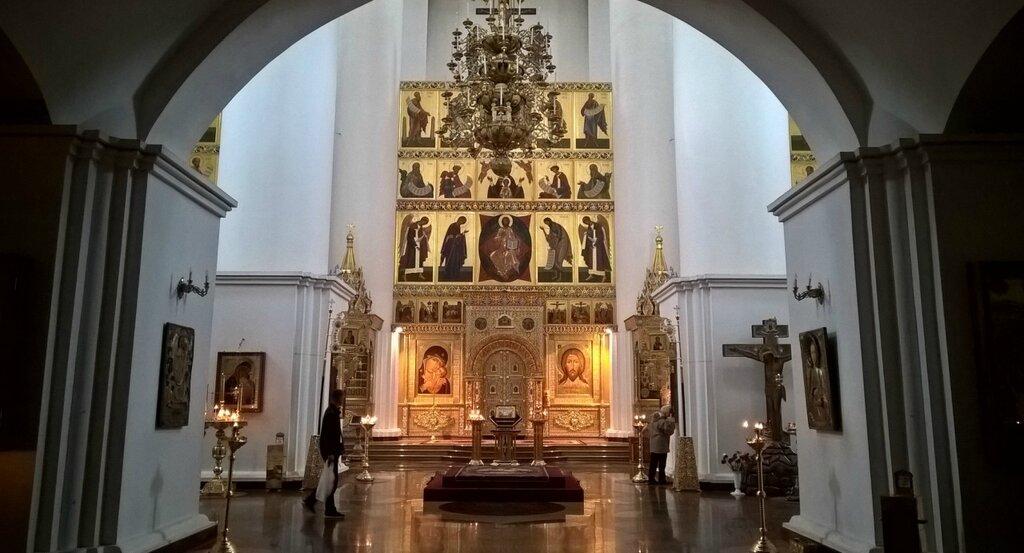 Внутреннее убранство Успенского кафедрального собора, Ярославль
