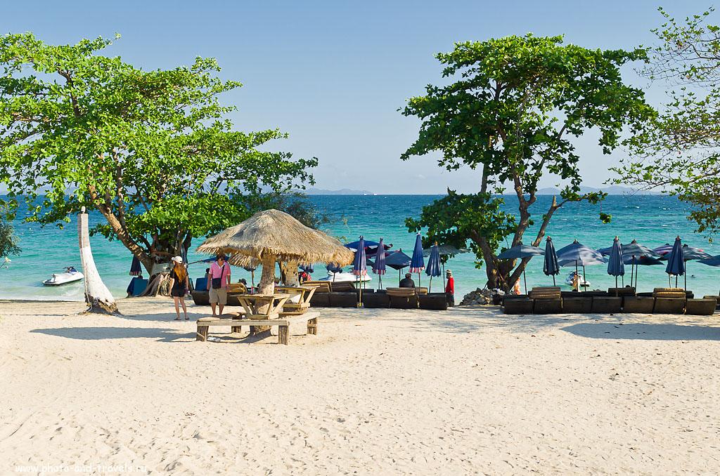 11. Пляж Naul Beach на острове Ко Лан. Как добраться сюда на пароме от пирса Бали Хай в Паттайе, читайте в первой главе отзыва. Поездка в Таиланд самостоятельно.