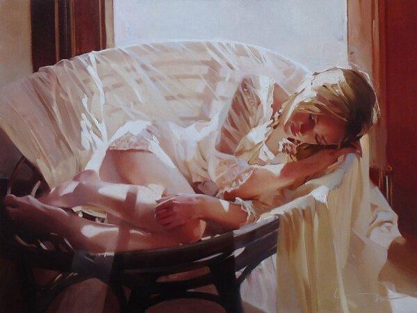 Доброе утро, красивая женщина! Алексей Чернигин
