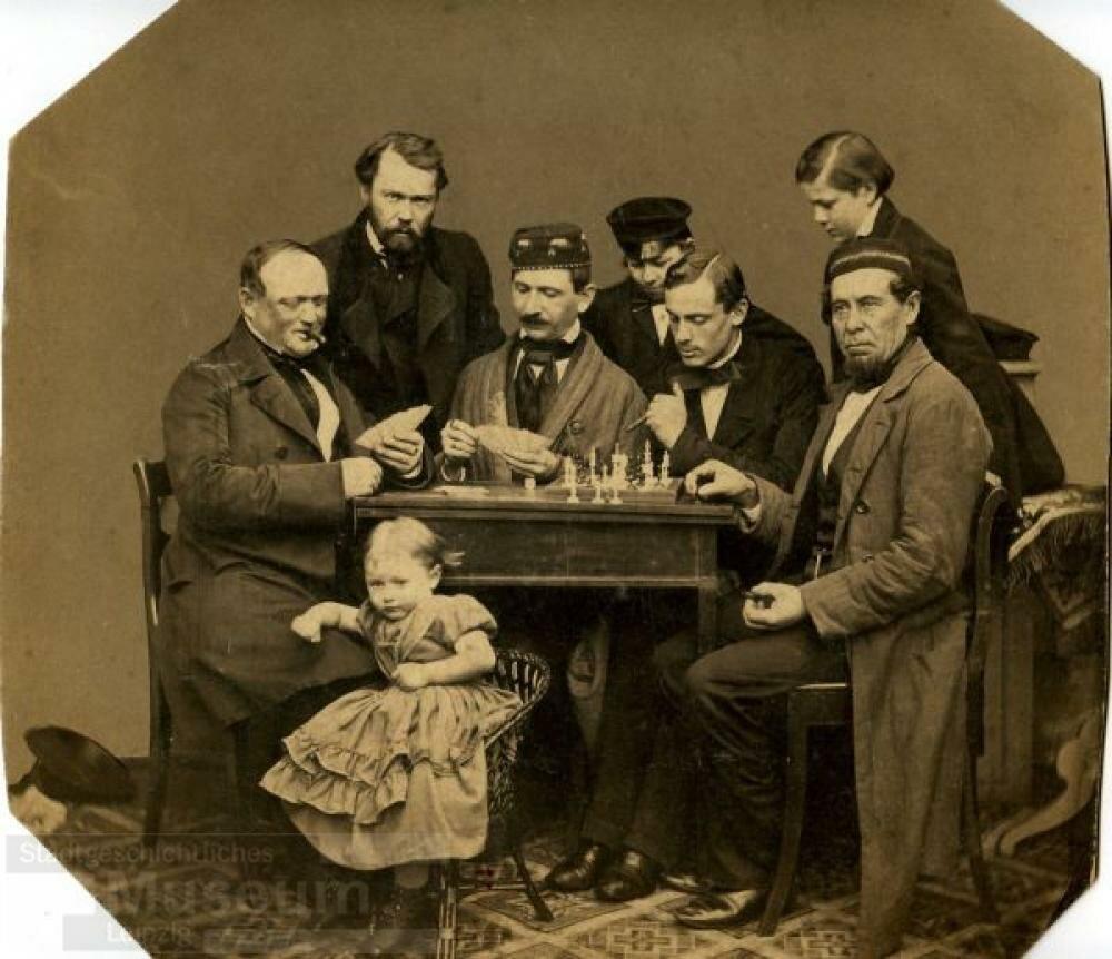 1850-е. Групповой портрет