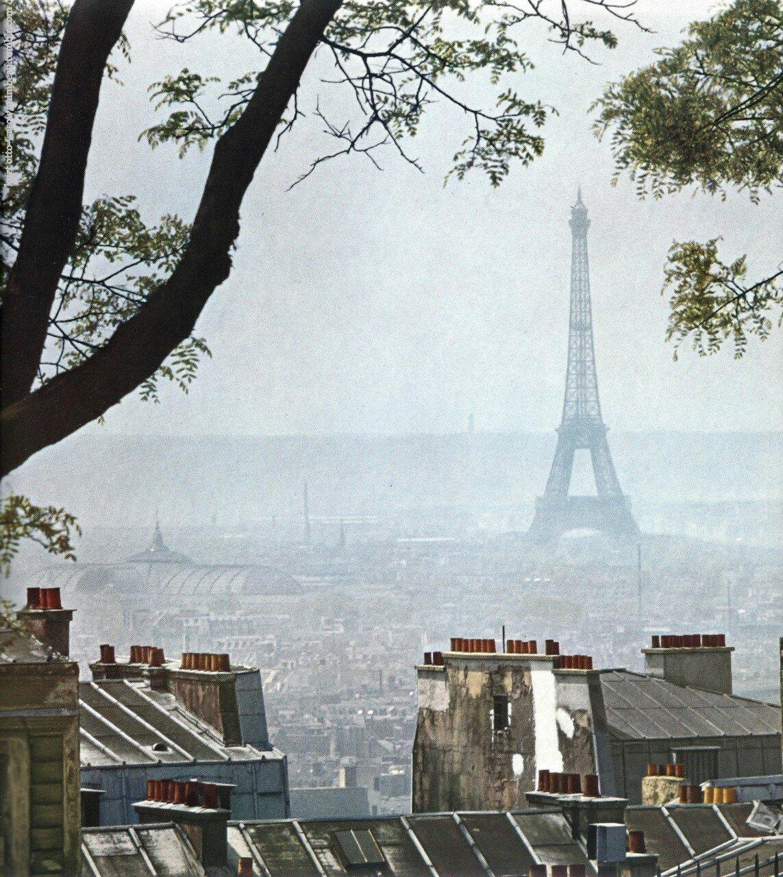 1950-е. Над крышами Парижа
