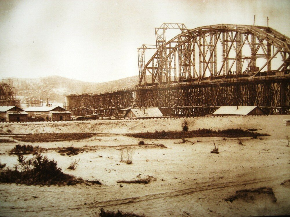 04. Постройка Белогорского моста