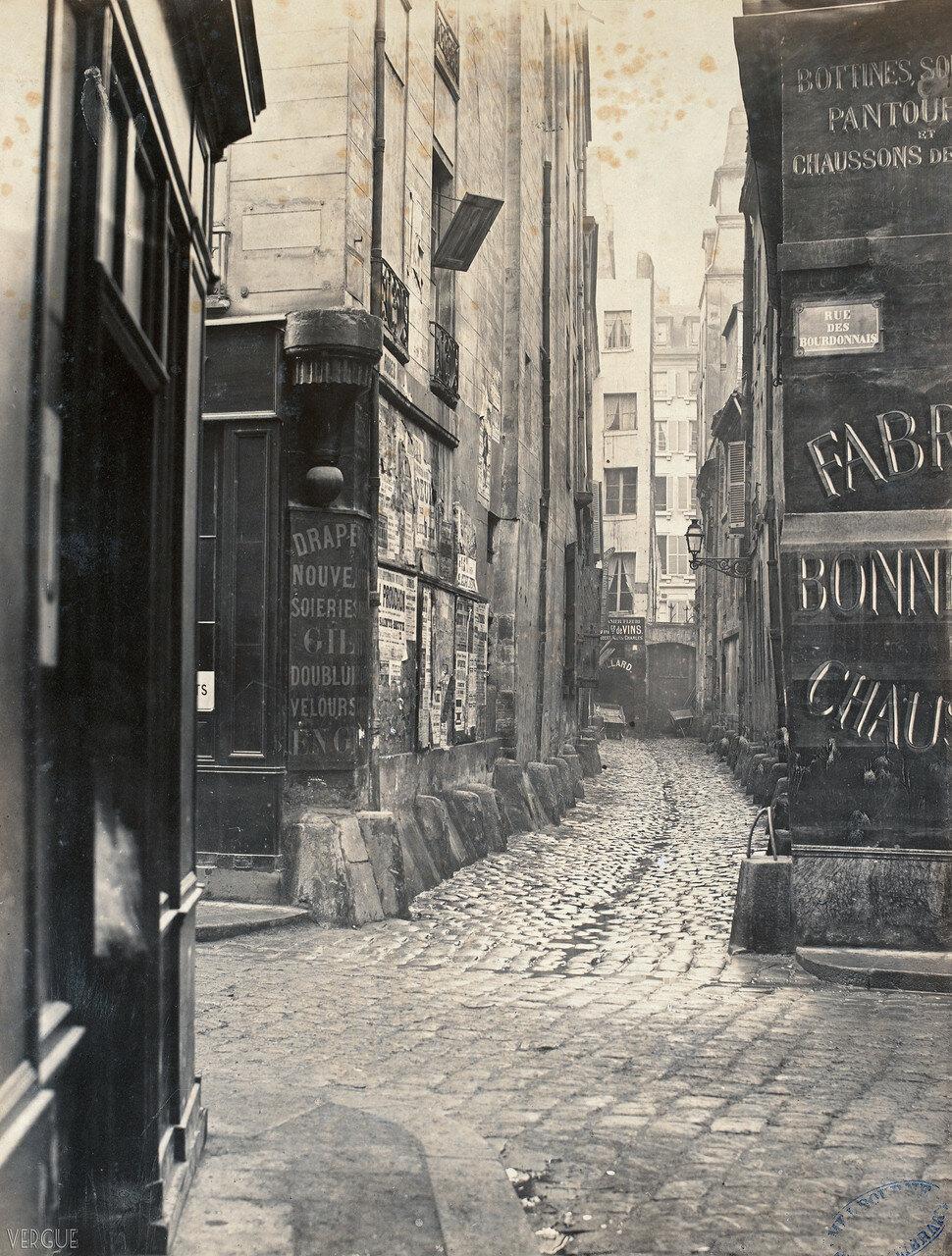 Тупик Бурдонне́. 1865