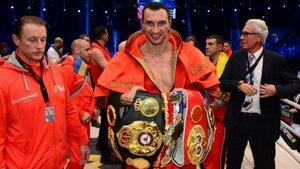 Владимир Кличко будет претендовать на звание чемпиона мира